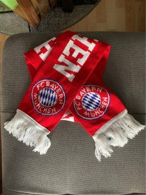 FC Bayern München Fringed Scarf red