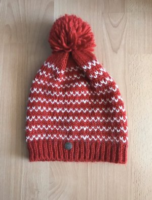 FC Bayern München Gorro tejido blanco-rojo