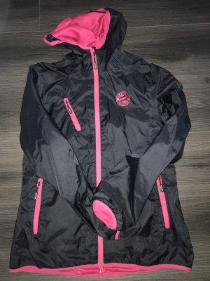Outdoor Jacket pink-dark blue