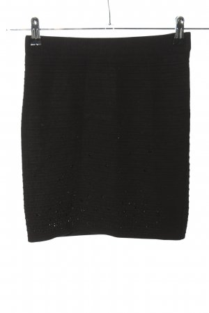 FC Knitted Skirt black casual look