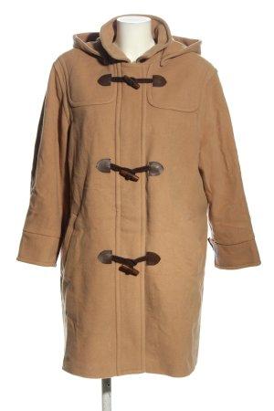 FE Edition Cappotto con cappuccio marrone stile casual
