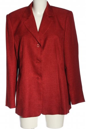 FE Edition Tweed Blazer red striped pattern casual look