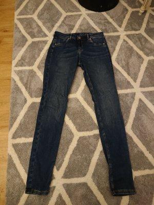 H&M Jeans stretch bleu