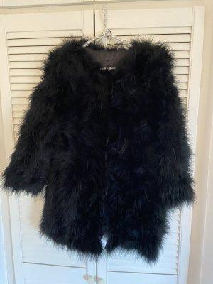 Velvet Victory Giacca in pelliccia nero