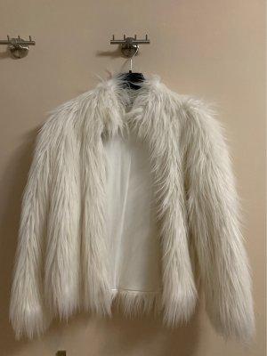 taubert Giacca di pelliccia bianco