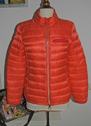 Closed Quilted Jacket bright red-neon orange