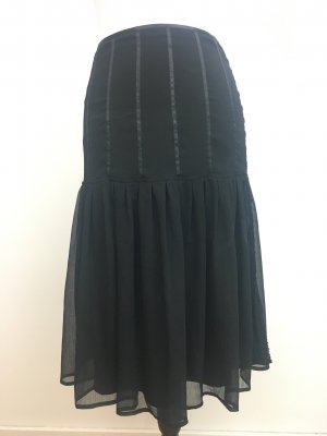 More & More Flounce Skirt black polyester