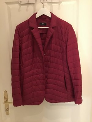 Peter Hahn Quilted Jacket carmine polyester