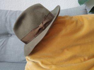 Barbisio Chapeau en feutre gris vert