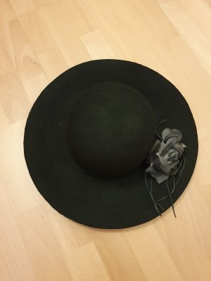 Sisley Wollen hoed zwart