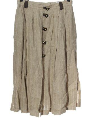 Feelings Flared Skirt light grey casual look