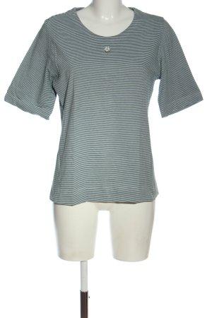 Feelings Stripe Shirt green-white striped pattern casual look