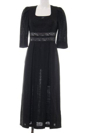 Feelings Traditional Dress black simple style