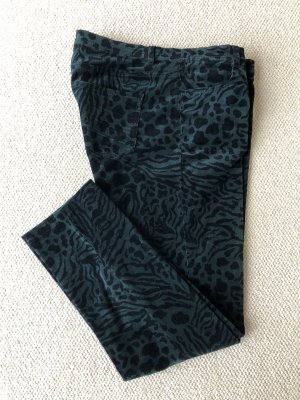 Betty Barclay Corduroy broek groen-zwart Katoen