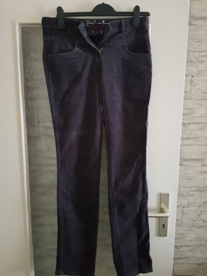 Tom Tailor Corduroy Trousers dark grey