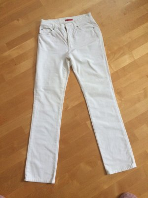 Angels Straight Leg Jeans white