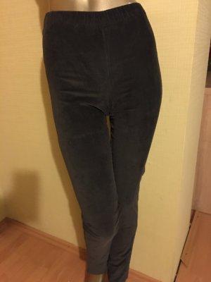 Soyaconcept Pantalone di velluto a coste grigio
