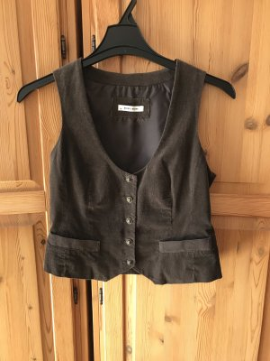 More & More Reversible Vest dark brown