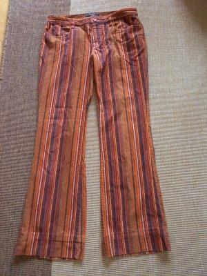 Hallhuber Philosophy Pantalon en velours côtelé multicolore