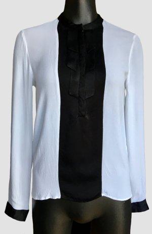 Feine dünne Bluse mit Deko-Schleife