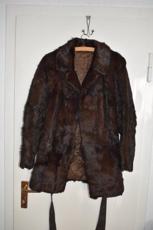 Pelt Jacket dark brown-brown