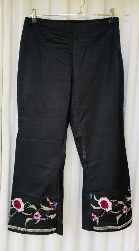 Zero Pantalon 7/8 multicolore coton