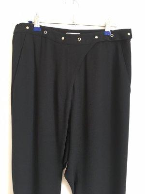 Costume National Pantalone jersey nero Acetato