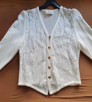 Giacca di lana bianco