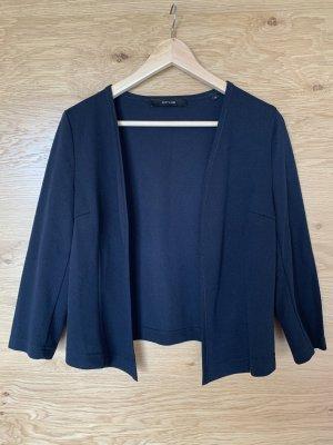 Opus Boléro en tricot bleu foncé polyester