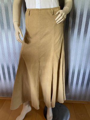 Maxi Skirt beige corduroy