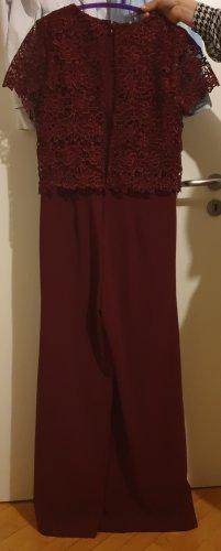 Bodyflirt Jumpsuit dark red