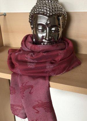 Feiner Schal aus Wolle und Seide