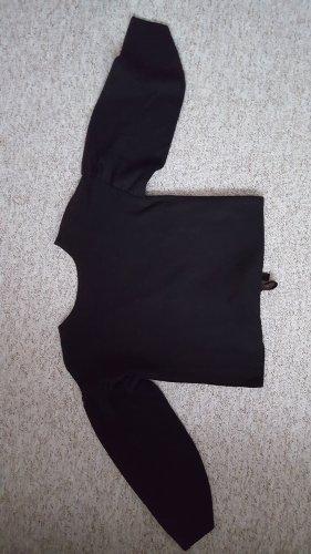 Feiner Strickpulli mit raffiniertem Rücken
