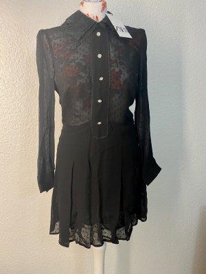 Feiner Zara Overall/Jumpsuit, Neu mit Etikett!, Größe XS, Farbe Schwarz