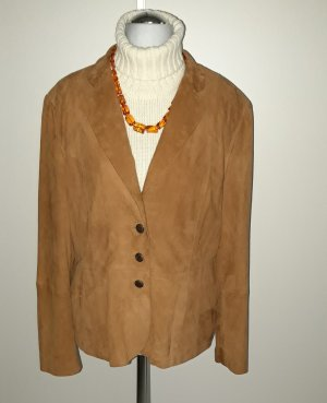 Blazer in pelle multicolore Pelle
