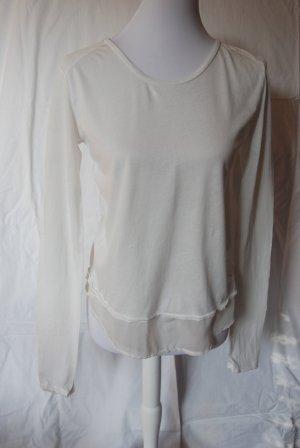 Better Rich Long Shirt natural white cotton
