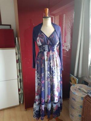 Sublevel Chiffon Dress purple