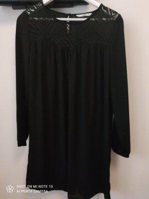Only Chiffon jurk zwart Polyester