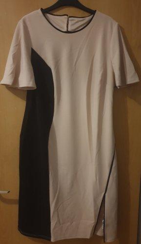 asos curve Midi-jurk zwart-beige