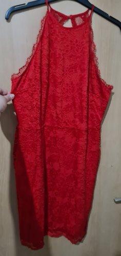 H&M Halter Dress red