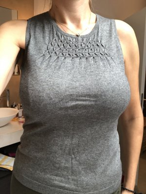Hugo Boss Knitted Top grey