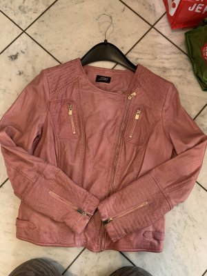 Amy Vermont Leather Jacket pink-pink