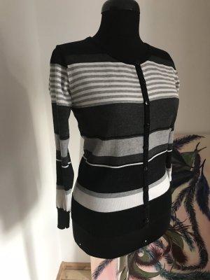 YES OR NO Veste en tricot multicolore coton