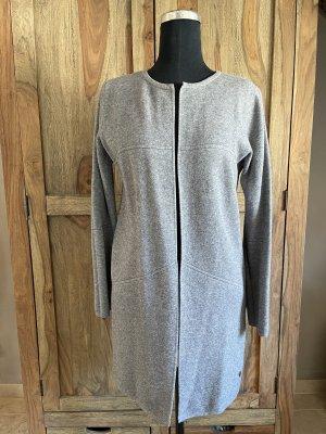 0039 Italy Manteau en tricot gris clair