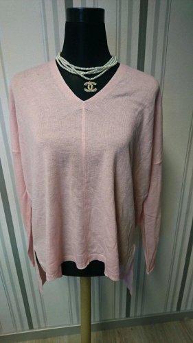 Feinstrick Pullover (567) in rosa Größe XS / 34
