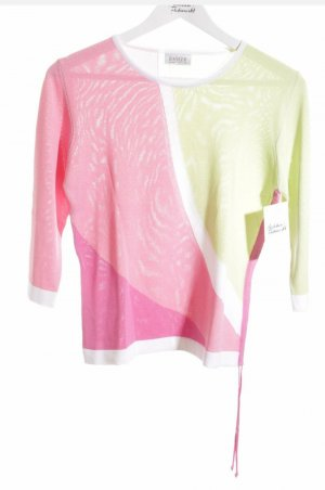 Basler Pull tricoté multicolore