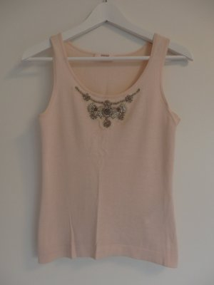 Laurèl Haut tricotés rosé coton