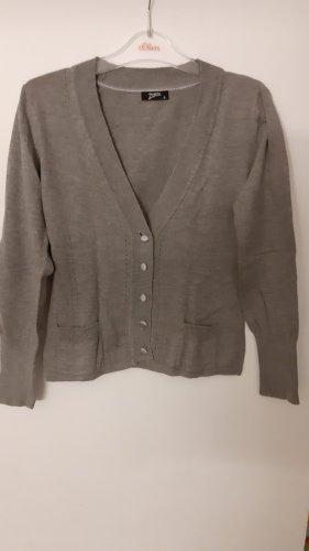 Zagora Knitted Cardigan grey