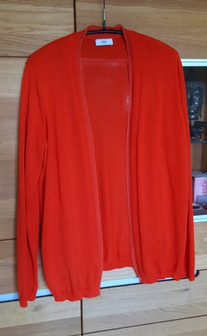 Woman by Tchibo Knitted Cardigan red viscose