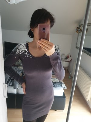Apricot Knitted Dress grey